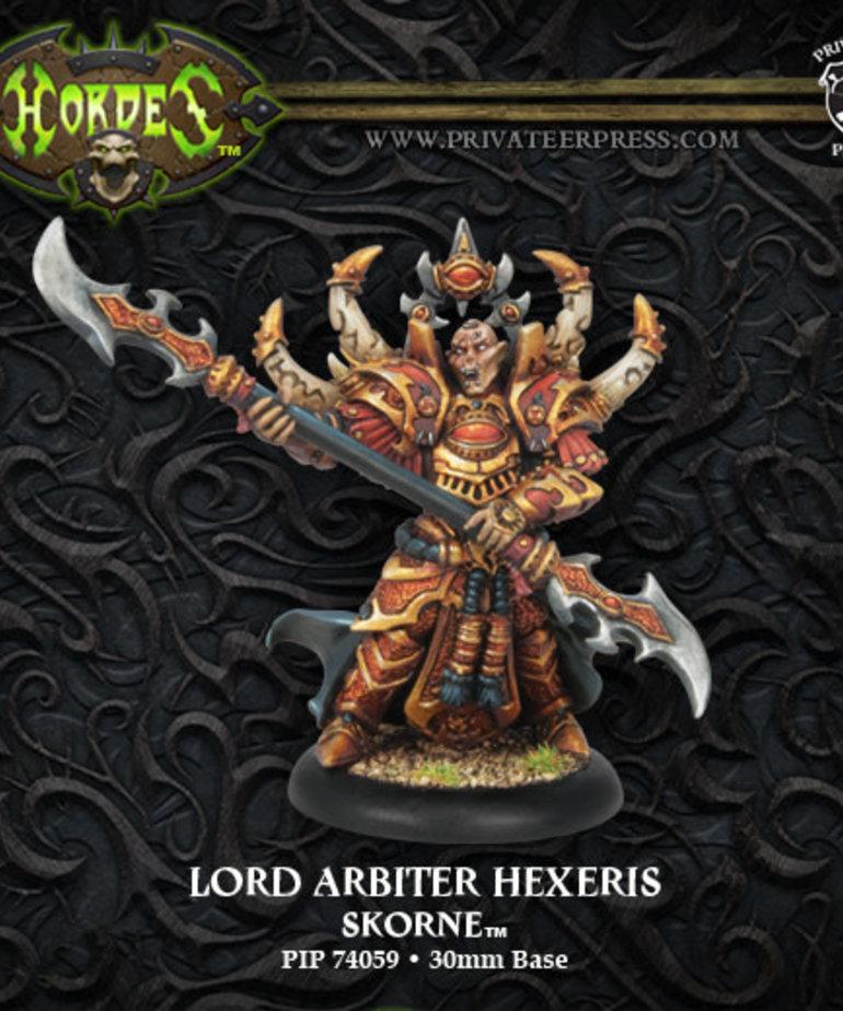 Privateer Press - PIP Hordes - Skorne - Lord Arbiter Hexeris - Warlock (Hexeris 2)
