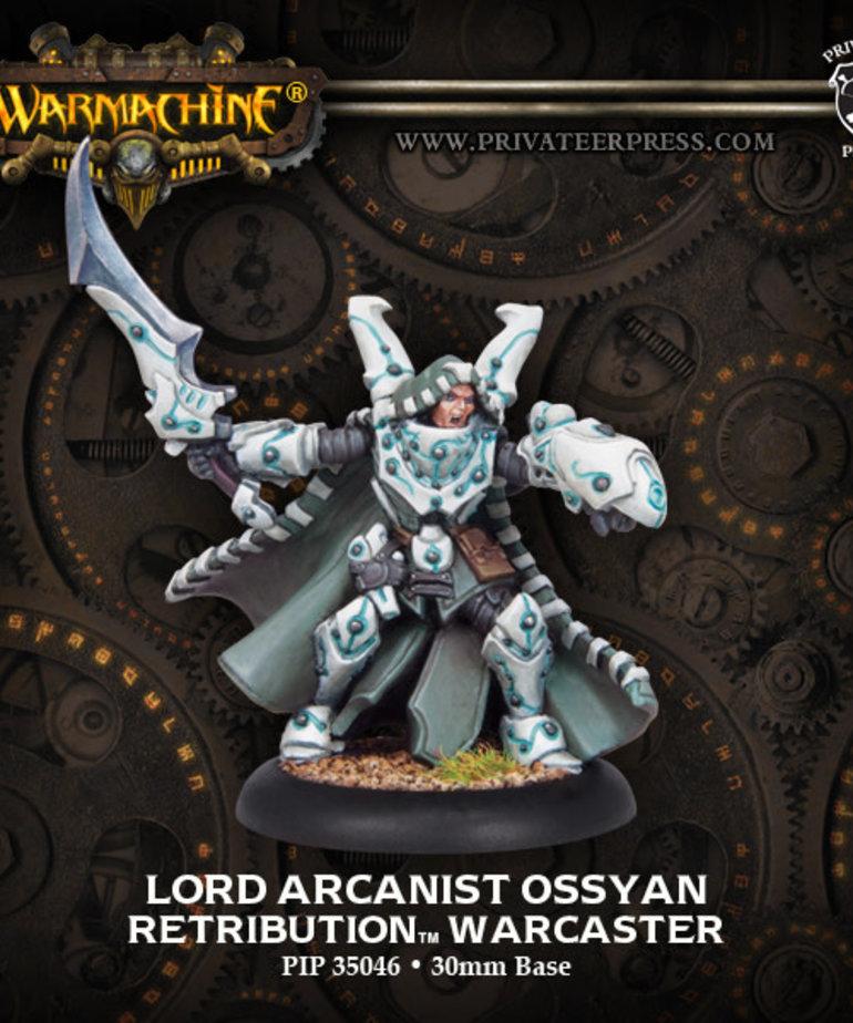 Privateer Press - PIP Warmachine - Retribution of Scyrah - Lord Arcanist Ossyan - Warcaster (Ossyan 1)