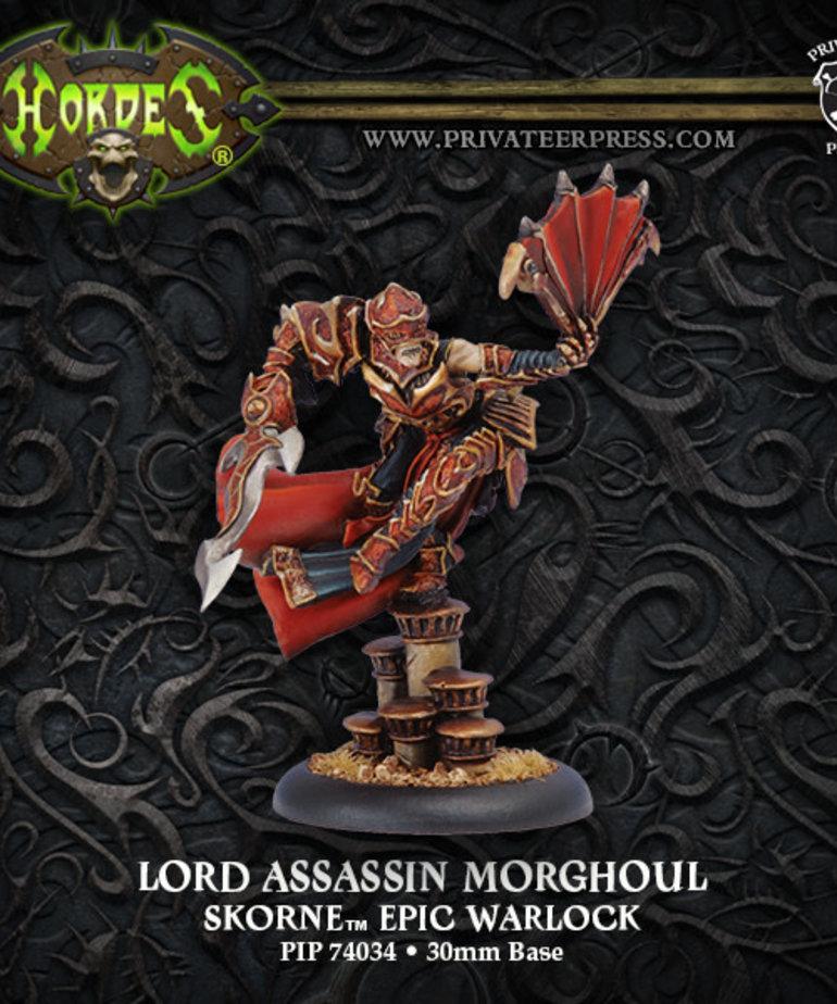 Privateer Press - PIP Hordes - Skorne - Lord Assassin Morghoul - Epic Warlock (Morghoul 2)