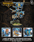 Privateer Press - PIP Warmachine - Cygnar - Lord General Coleman Stryker - Epic Cavalry Warcaster (Stryker 3)