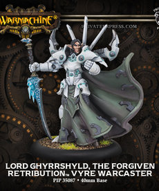Privateer Press - PIP Warmachine - Retribution of Scyrah - Lord Ghyrrshyld, the Forgiven - Vyre Warcaster (Goreshade 4)