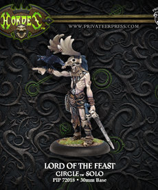 Privateer Press - PIP Hordes - Circle Orboros - Lord of the Feast - Solo