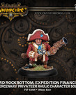 Privateer Press - PIP Warmachine - Mercenaries - Lord Rockbottom, Expedition Financier - Privateer Rhulic Character Solo
