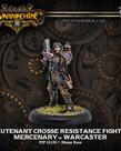 Privateer Press - PIP Warmachine - Mercenaries - Lieutenant Gastone Crosse Resistance Fighter - Warcaster (Gastone 2)