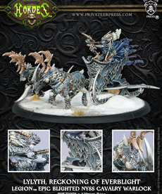 Privateer Press - PIP Hordes - Legion of Everblight - Lylyth, Reckoning of Everblight - Epic Blighted Nyss Cavalry Warlock (Lylyth 3)