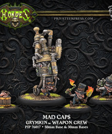 Privateer Press - PIP Hordes - Grymkin - Mad Caps - Weapon Crew