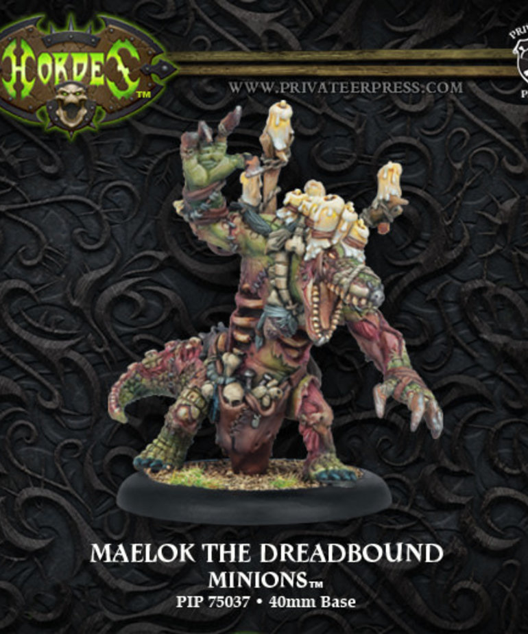 Privateer Press - PIP Hordes - Minions - Maelok the Dreadbound