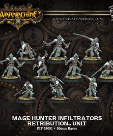 Privateer Press - PIP Warmachine - Retribution of Scyrah - Mage Hunter Infiltrators - Unit