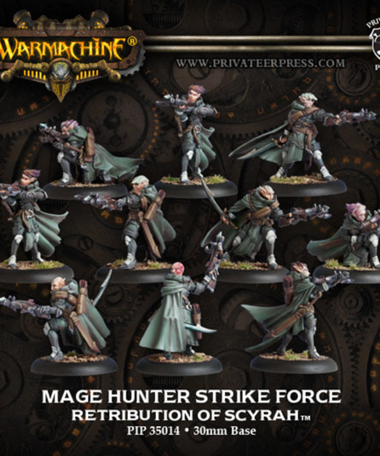 Privateer Press - PIP Warmachine - Retribution of Scyrah - Mage Hunter Strike Force