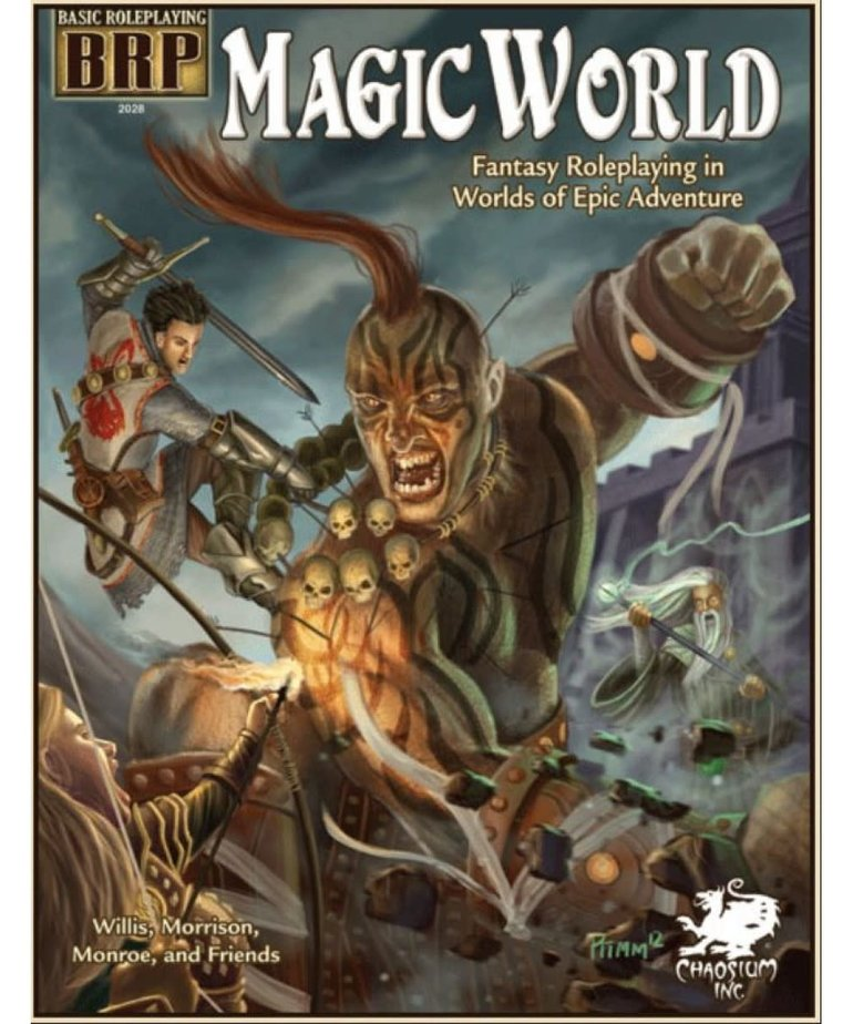 CLEARANCE Magic World: Fantasy Roleplaying in Worlds of Epic Adventure (DOMESTIC ONLY)