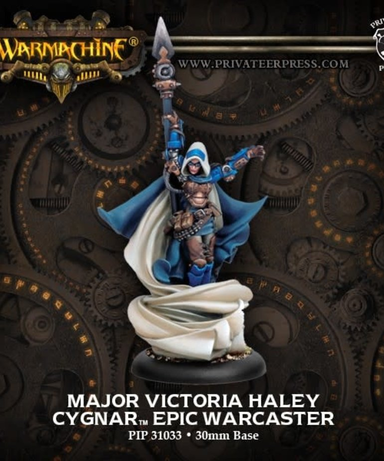 Privateer Press - PIP Warmachine - Cygnar - Major Victoria Haley - Epic Warcaster (Haley 2)
