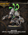 Privateer Press - PIP Warmachine - Cryx - Malice Character - Helljack