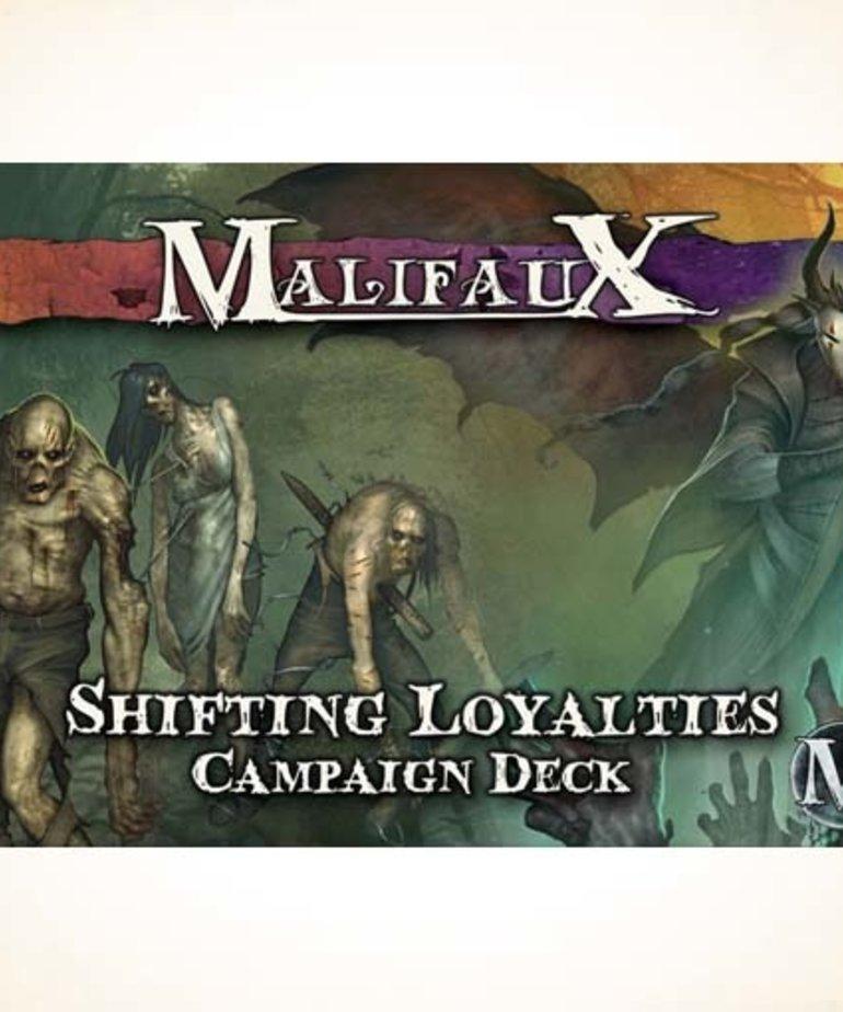 Wyrd Miniatures - WYR CLEARANCE Malifaux 2E: Shifting Loyalties Campaign Deck