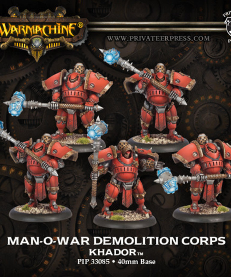 Privateer Press - PIP Warmachine - Khador - Man-O-War Demolition Corps