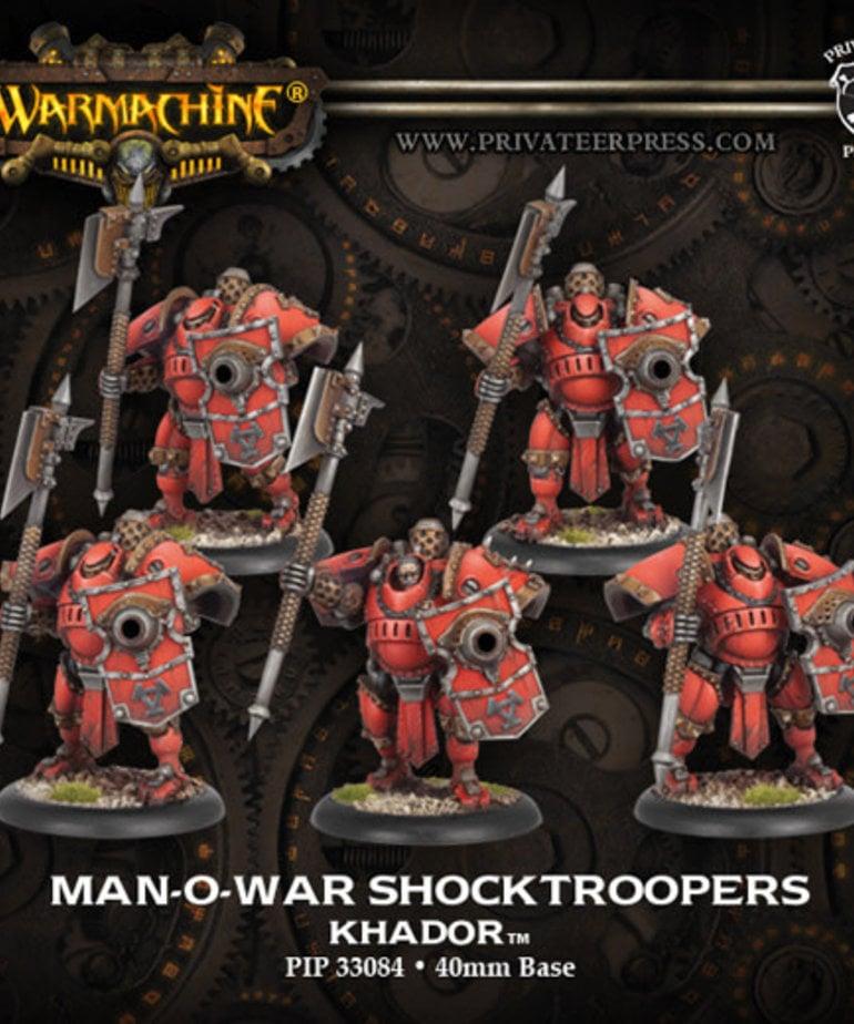 Privateer Press - PIP Warmachine - Khador - Man-O-War Shocktroopers