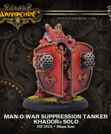 Privateer Press - PIP Warmachine - Khador - Man-O-War Suppression Tanker - Solo