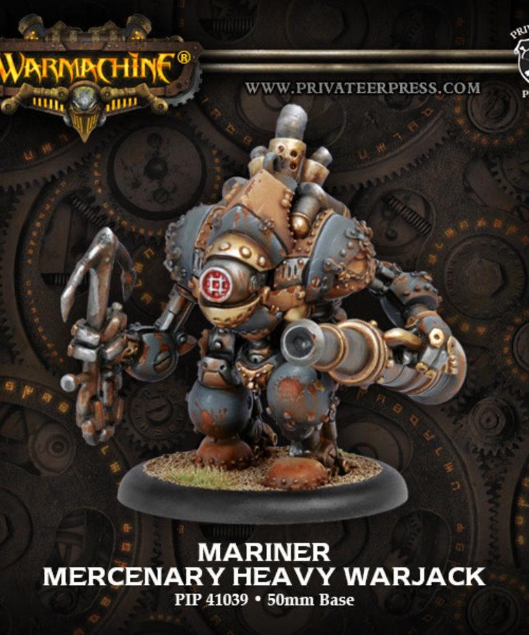 Privateer Press - PIP Warmachine - Mercenaries - Mariner - Heavy Warjack