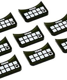 Privateer Press - PIP Warmachine / Hordes - Medium-Base Wound Markers (8)