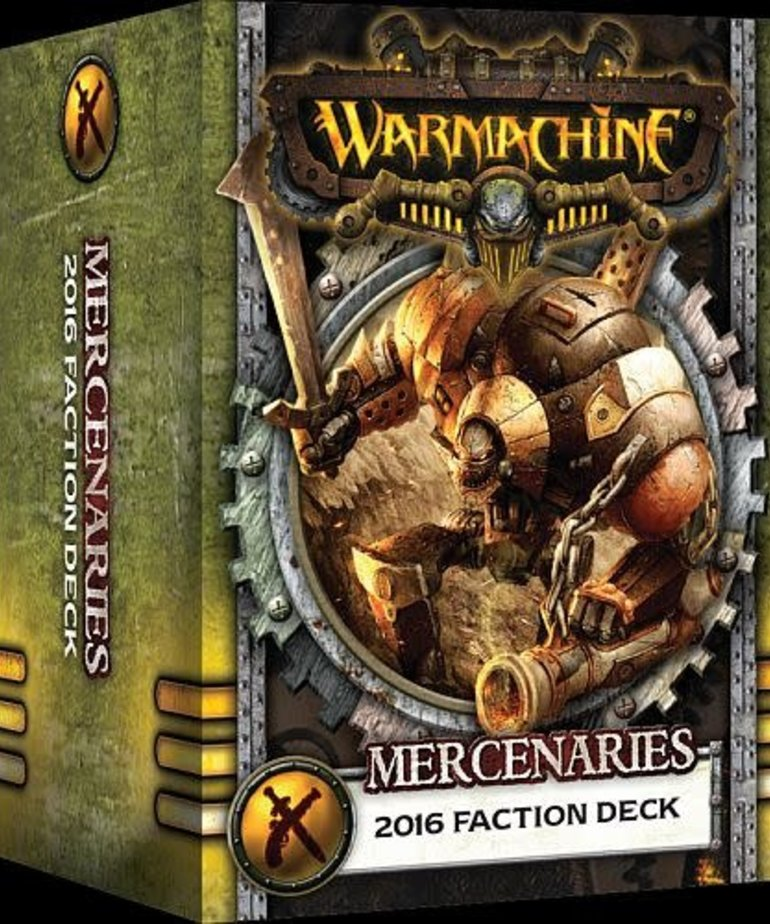 Privateer Press - PIP Warmachine - Mercenaries - 2016 Faction Deck MK III