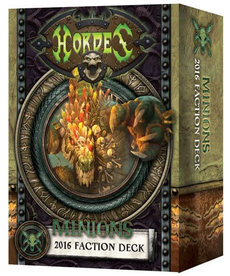 Privateer Press - PIP Hordes - Minions - 2016 Faction Deck MK III