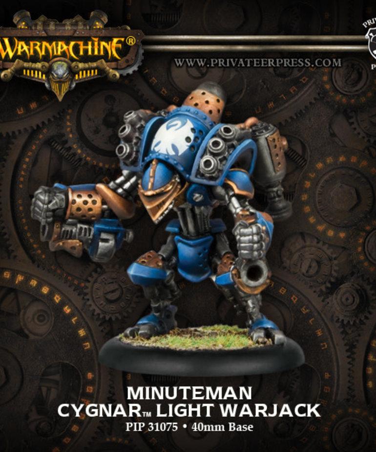 Privateer Press - PIP Warmachine - Cygnar - Minuteman - Light Warjack