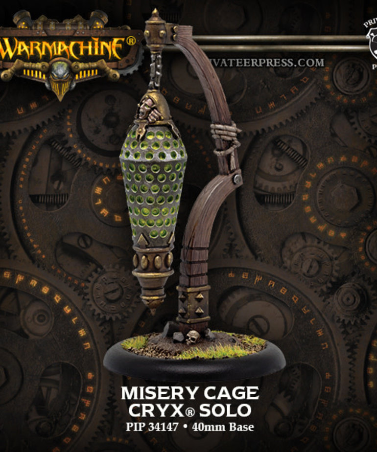 Privateer Press - PIP Warmachine - Cryx - Misery Cage - Solo