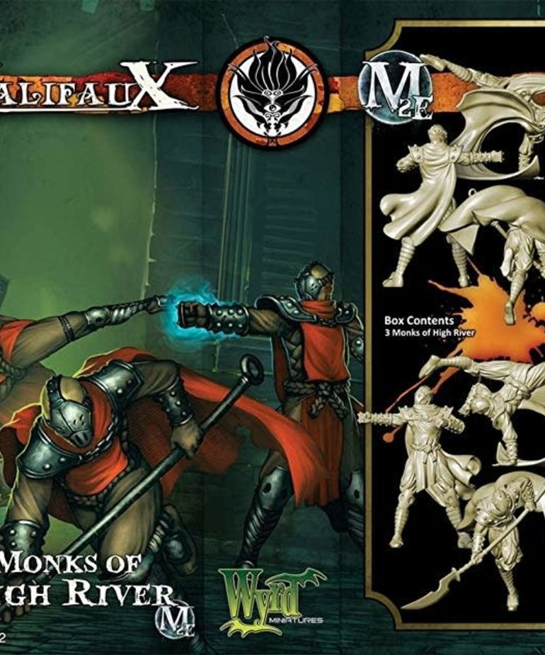 Wyrd Miniatures - WYR CLEARANCE Monks of High River