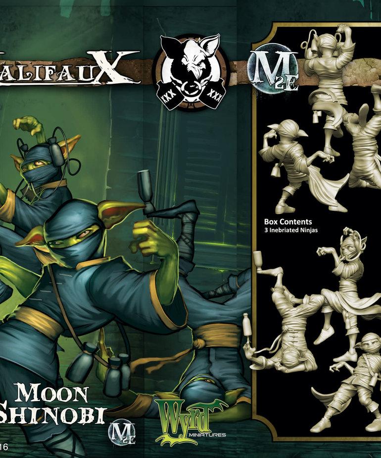 Wyrd Miniatures - WYR CLEARANCE Moon Shinobi (3)