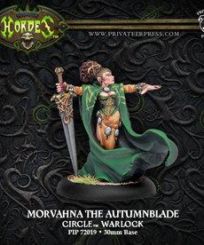 Privateer Press - PIP Hordes - Circle Orboros - Morvahna the Autumnblade - Warlock (Morvahna 1)