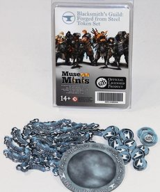 Muse On Minis - MOM Muse on Minis - Guild Ball: Blacksmith's Guild - Forged from Steel Token Set Season Four BLACK FRIDAY NOW