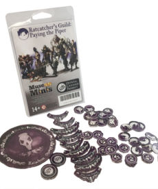 Muse On Minis - MOM Muse on Minis - Guild Ball: Ratcatcher's Guild - Paying the Piper Token Set Season Four BLACK FRIDAY NOW