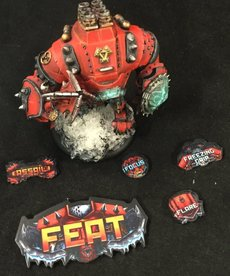 Muse On Minis - MOM Muse on Minis - Khador Mark 3 Full Color Acrylic Tokens