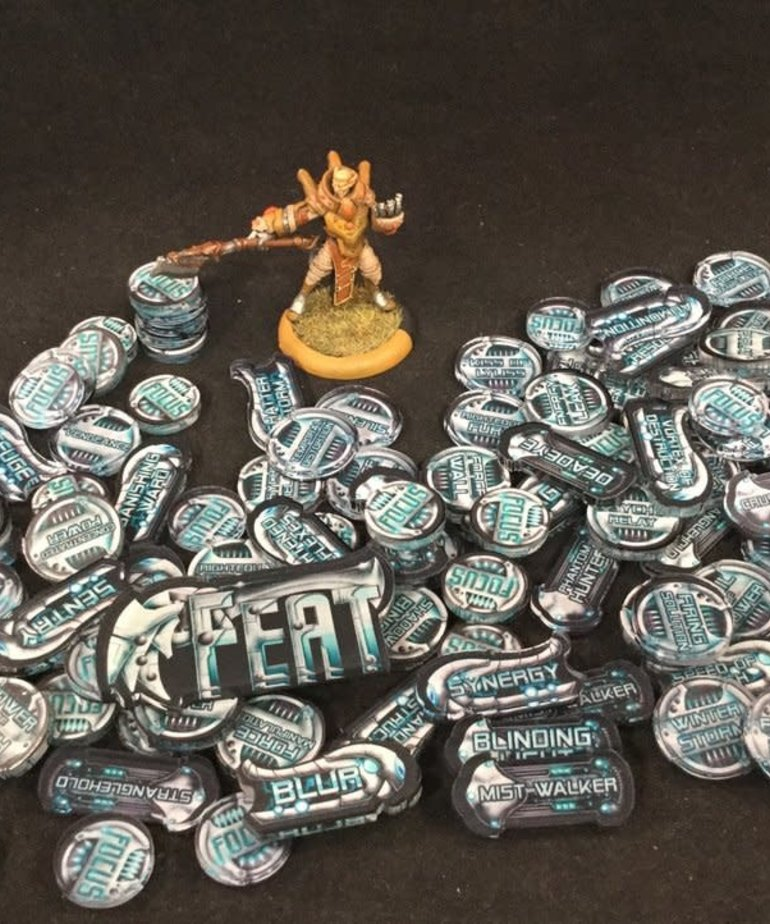 Muse On Minis - MOM Muse on Minis - Retribution Mark 3 Full Color Acrylic Tokens