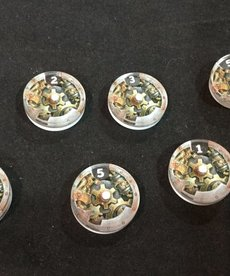 Muse On Minis - MOM Muse on Minis - Steampunk Damage Tracking Dials