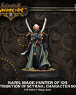 Privateer Press - PIP Warmachine - Retribution of Scyrah - Narn, Mage Hunter of Ios - Character Solo