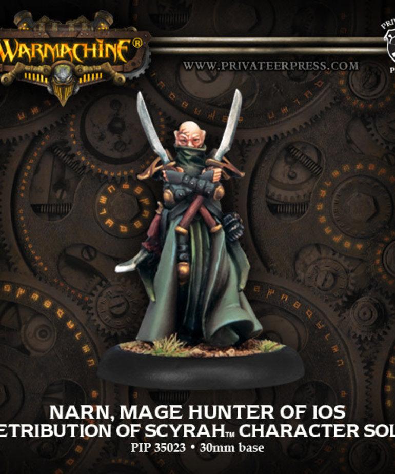 Privateer Press - PIP Warmachine - Retribution of Scyrah - Narn, Mage Hunter of Ios - Character Solo