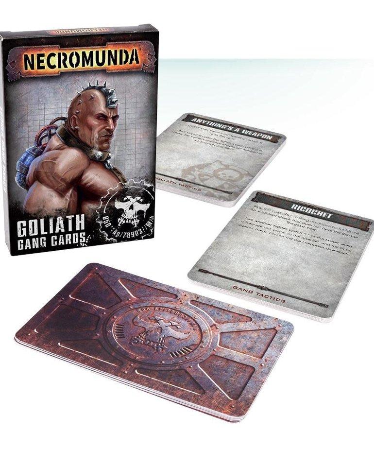 Games Workshop - GAW CLEARANCE - HALF OFF Necromunda: Goliath Gang Cards