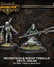 Privateer Press - PIP Warmachine - Cryx - Necrotech & Scrap Thralls - Solos