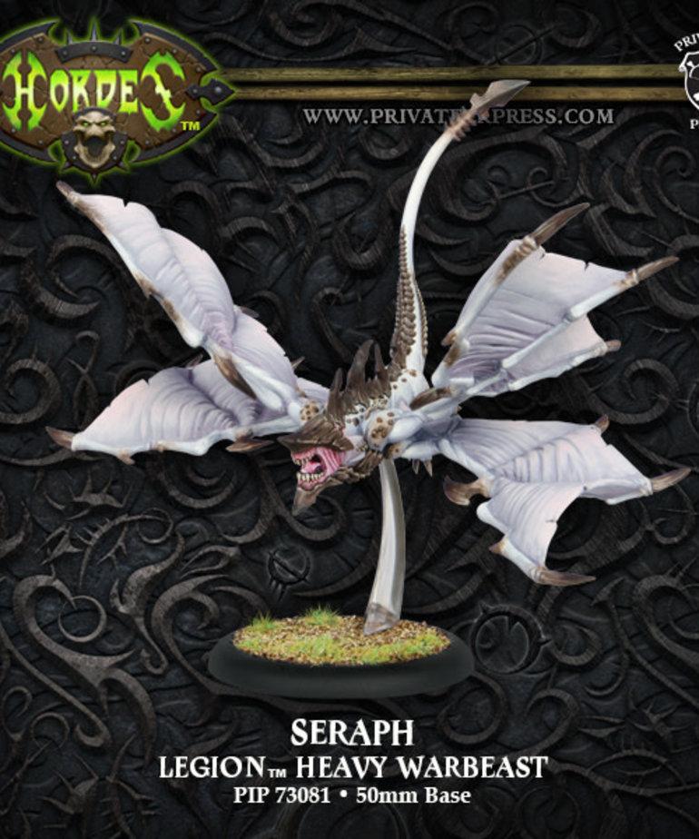 Privateer Press - PIP Hordes - Legion of Everblight - Neraph / Seraph - Heavy Warbeast