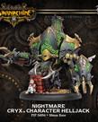 Privateer Press - PIP Warmachine - Cryx - Nightmare - Character Helljack