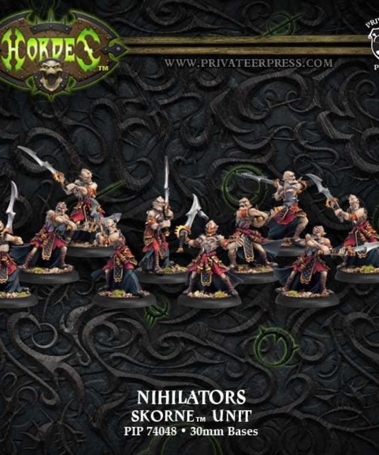 Privateer Press - PIP Hordes - Skorne - Nihilators - Unit