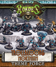 Privateer Press - PIP CLEARANCE - NO REBATE - Hordes - Trollbloods - Northkin Theme Force Box