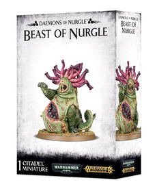 Games Workshop - GAW Warhammer 40K/Warhammer Age of Sigmar - Daemons of Nurgle - Beast of Nurgle