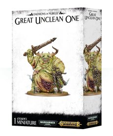 Games Workshop - GAW Warhammer 40K/Warhammer Age of Sigmar - Maggotkin of Nurgle - Great Unclean One