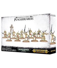 Games Workshop - GAW Warhammer 40k/Warhammer Age of Sigmar - Daemons of Nurgle - Plaguebearers