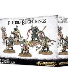 Games Workshop - GAW Warhammer Age of Sigmar - Maggotkin of Nurgle - Putrid Blightkings