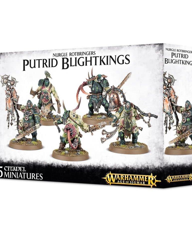 Games Workshop - GAW Warhammer Age of Sigmar - Maggotkin of Nurgle - Putrid Blightkings