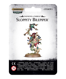 Games Workshop - GAW Warhammer 40k/Warhammer Age of Sigmar - Daemons of Nurgle - Sloppity Bilepiper