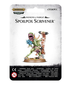 Games Workshop - GAW Warhammer 40k/Warhammer Age of Sigmar - Daemons of Nurgle - Spoilpox Scrivener