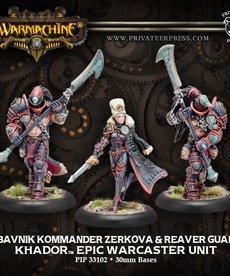 Privateer Press - PIP Obavnik Kommander Zerkova & Reaver Guard (Zerkova 2)